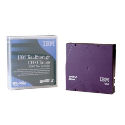 IBM LTO Ultrium 200 GB Data Cartridge datatape
