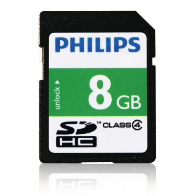 Philips SD-kaarten FM08SD35B/10 Flashgeheugen