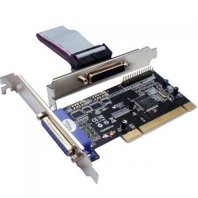 ST Lab PCI 2P Parallel Card, 2 x DB25 (f), Plug & Play Interfaceadapter
