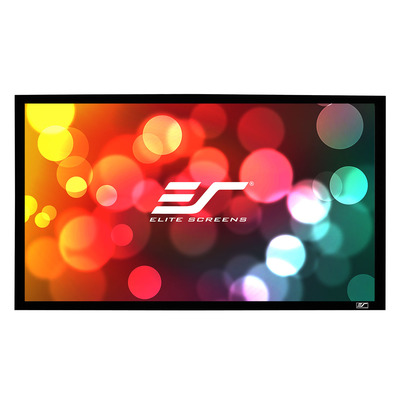 "Elite Screens ""Sable Frame ER92WH1"" Rahmenleinwand 203,7cm x 114,5cm (BxH) 16:9 Projectiescherm"