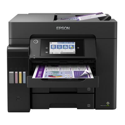 Epson EcoTank ET-5850 Multifunctional - Zwart, Cyaan, Magenta, Geel