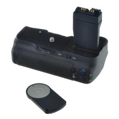 Jupio digitale camera batterij greep: Battery Grip voor Canon EOS 550D/600D - Zwart