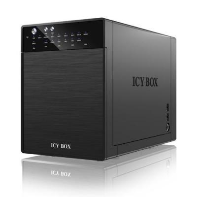 Icy box SAN: IB-RD3640SU3E2 - Zwart