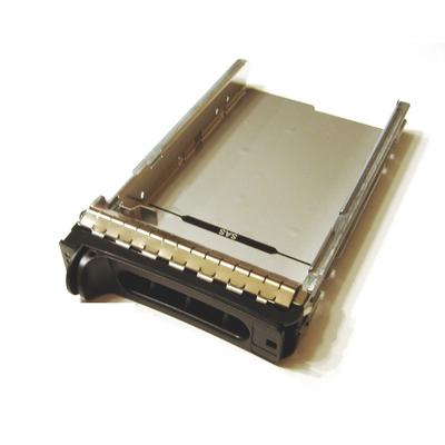"""CoreParts 3.5"""" SATA/SAS HotSwap Tray Computerkast onderdeel - Zwart, Grijs"""
