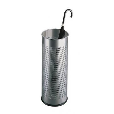 Durable parapluhouder: Umbrella Stand metal round 28.5 - Zilver