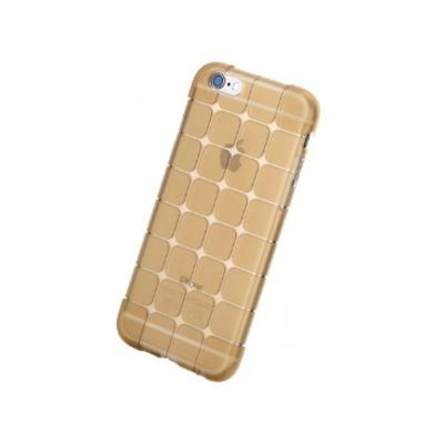 ROCK Cubee Mobile phone case - Goud, Transparant