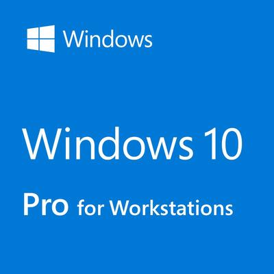 HP Windows 10 Pro for Workstations Besturingssysteem