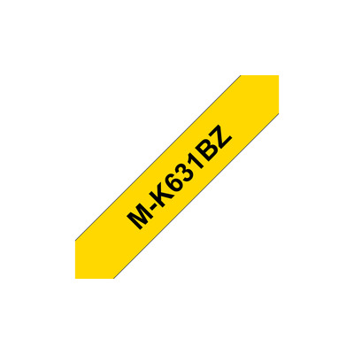 Brother MK-631B Labelprinter-tapes