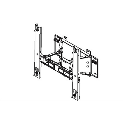 Samsung WMN4270SD, Wall Mount for 40'' LCD 400EXn/460EXn/550EXn/400EX/460EX/550EX Montagehaak