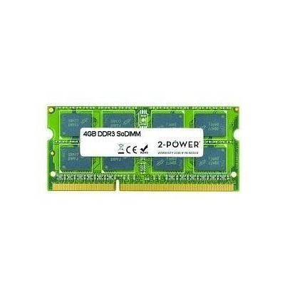 2-power RAM-geheugen: 4GB DDR3 1333MHz SoDIMM - Groen