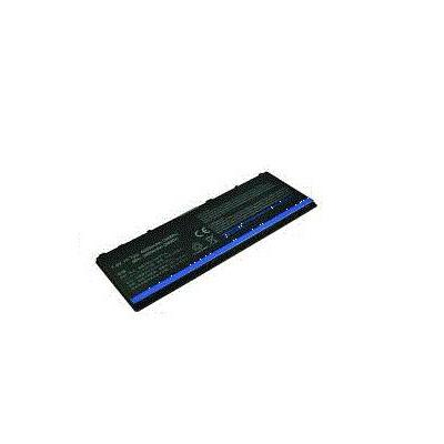 2-power batterij: Main Battery Pack 7.4V 4000mAh Dell Latitude 10 - Zwart