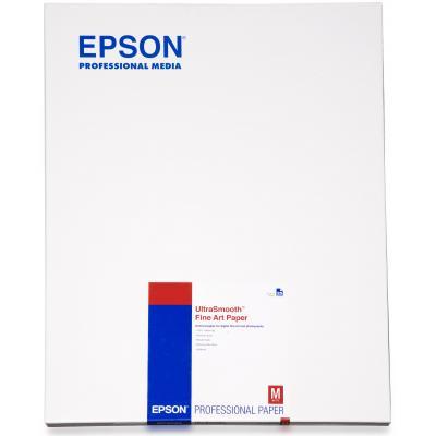 Epson grootformaat media: Ultrasmooth Fine Art Paper, DIN A2, 325g/m², 25 Sheets