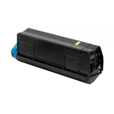 OKI cartridge: Toner Yellow 3000sh f C5200 5400