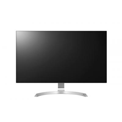 "Lg monitor: 32UD99-W 32"" 4K UHD IPS LED monitor met HDR10  - Zilver, Wit"
