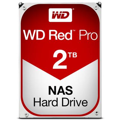 "Western Digital WD Red Pro 2TB 7200rpm 3,5"" SATA Interne harde schijf"