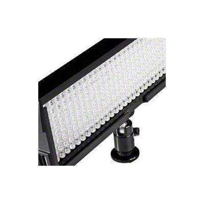 Walimex led lamp: LED Video Light with 256 LED - Zwart, Wit