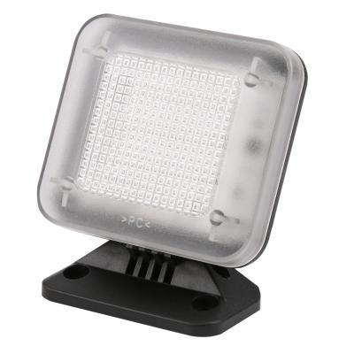 Olympia : 12 LEDs, 85 x 38 x 90 mm, 210 g - Zwart