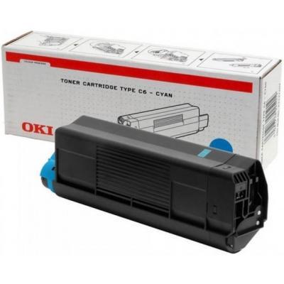 OKI cartridge: Cyan Toner Cartridge C5100/C5300