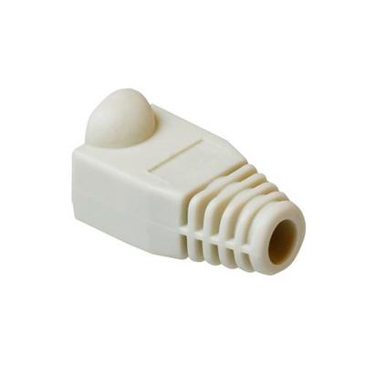 ACT RJ-45 Afwerktules voor Ø 5.5mm Kabelbeschermer - Wit