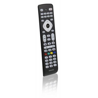 Philips afstandsbediening: Perfect replacement SRP2018/10 - Zwart