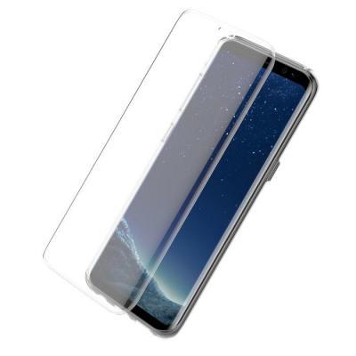 Otterbox screen protector: Galaxy S8 clearly protected skin with Alpha glass - Transparant