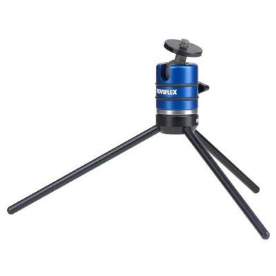 Novoflex Microstativ Tripod - Zwart, Blauw