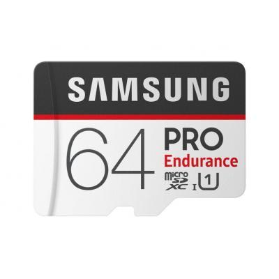 Samsung flashgeheugen: 64 GB microSDXC - Zwart, Wit