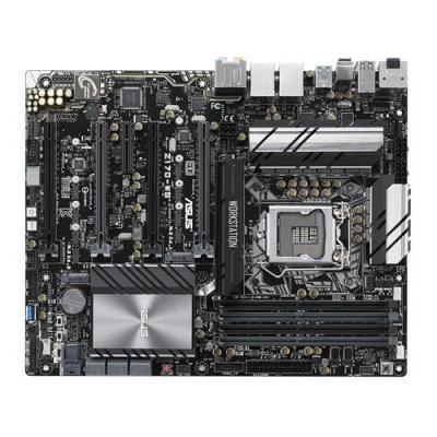 Asus server/werkstation moederbord: Intel Z170, 4 x DIMM, Max. 64GB, DDR4, UEFI AMI BIOS, ATX Form Factor