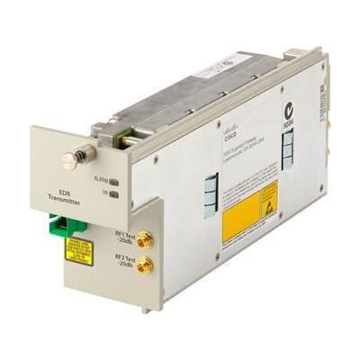 Cisco EDR 1:1, Tx OPM, DWDM, 1537.4nm, 50 ITU netwerk tranceiver module - Grijs, Wit