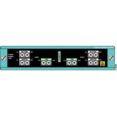 Cisco wave division multiplexer: Single-Wavelength 1530nm Dual-Channel OADM