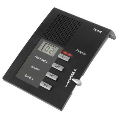 Tiptel Ergophone 307 Antwoordapparaat - Zwart