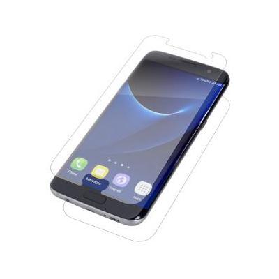 Zagg screen protector: InvisibleShield Original for the Samsung Galaxy S7 edge - Transparant