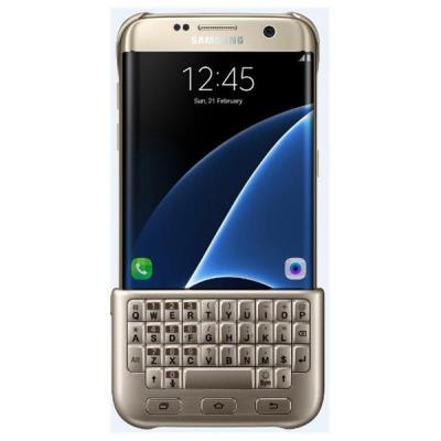 Samsung mobile device keyboard: EJ-CG935UFEGDE - Goud, QWERTY