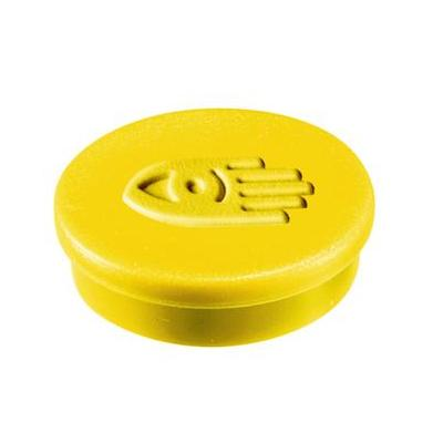 Legamaster Magnet 20mm yellow 10pcs Board accessorie - Geel