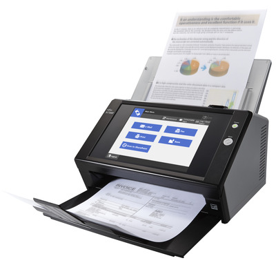 Fujitsu N7100E Scanner - Zwart