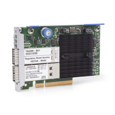 Hewlett Packard Enterprise InfiniBand FDR/Ethernet 10Gb/40Gb 2-port 544+FLR-QSFP Adapter .....