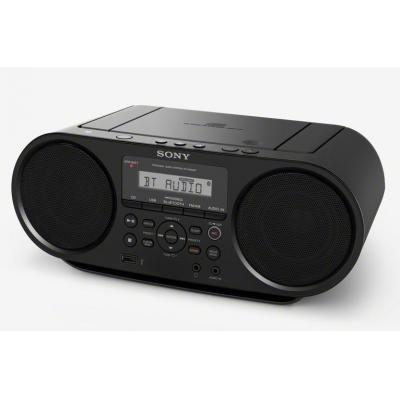 Sony CD-radio: ZS-RS60BT - Zwart