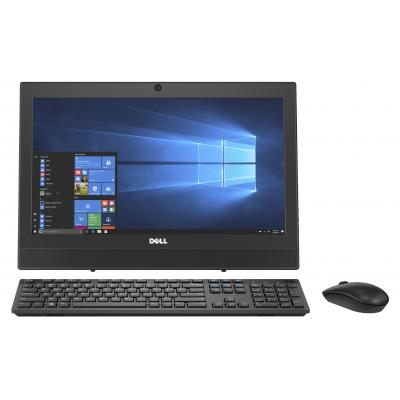 Dell all-in-one pc: OptiPlex 3050 - Zwart