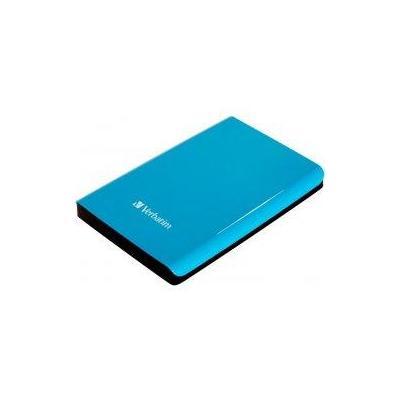 Verbatim externe harde schijf: Store 'n' Go USB 3.0 - Blauw