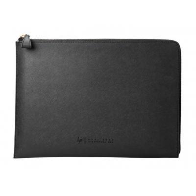 "Hp laptoptas: Spectre 13.3"" Leather Sleeve - Zwart"