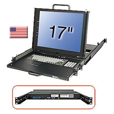 Lindy 21617 Rack console - Zwart
