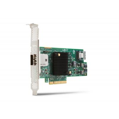 Hp raid controller: LSI 9217-4i4e 8-poorts SAS 6-Gb/s RAID-kaart