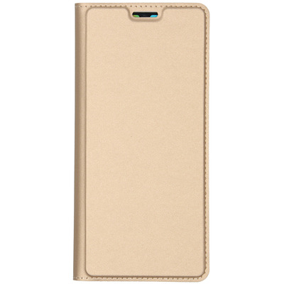 Slim Softcase Booktype Huawei P30 Pro - Goud / Gold Mobile phone case