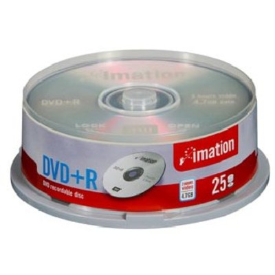 Imation DVD+R 4x 4.7GB Spindle (25) DVD