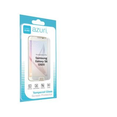 Azuri screen protector: Screen protector Tempered Glass voor Samsung Galaxy S6 - Transparant