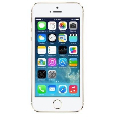Apple smartphone: iPhone 5s 32GB - Goud Refurbished (Als Nieuw) (Refurbished LG)