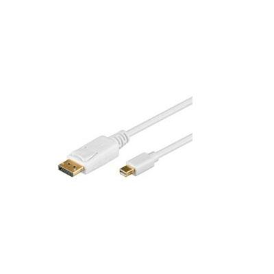 Goobay 1m DisplayPort Cable - Wit