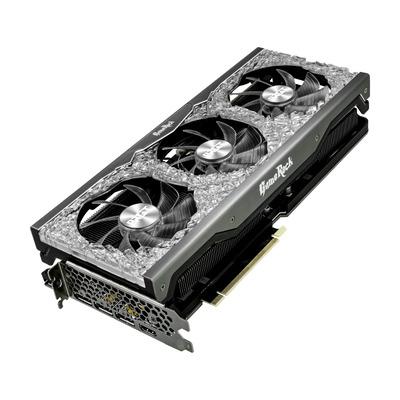 Palit GeForce RTX™ 3090 GameRock Videokaart - Zwart