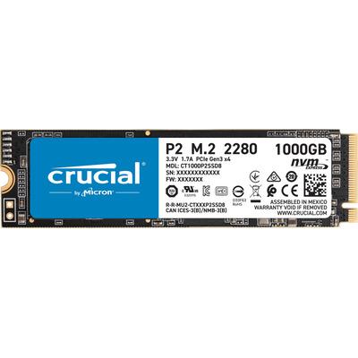 Crucial P2 M.2 1TB 2280 NVMe Tray SSD