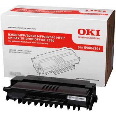 OKI cartridge: Toner Black High Capacity Pages 4.000 - Zwart